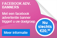 Facebook advertentie banner